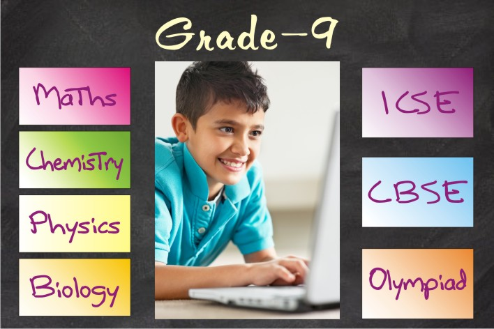 Recorded solution of NCERT text book of grade 9 and premium