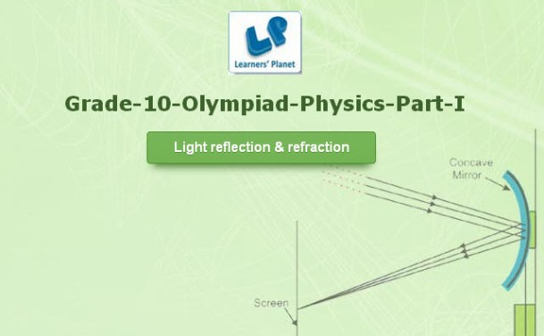 Class 10 physics interactive study online for olympiad