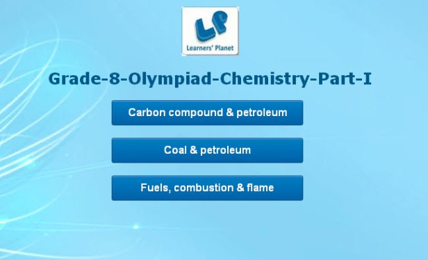 grade viii chemistry olympiad practice quizzes