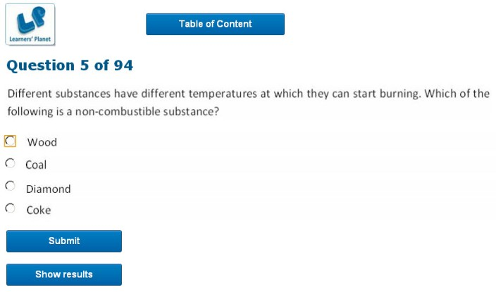 eighth class olympiad chemistry practice quiz online