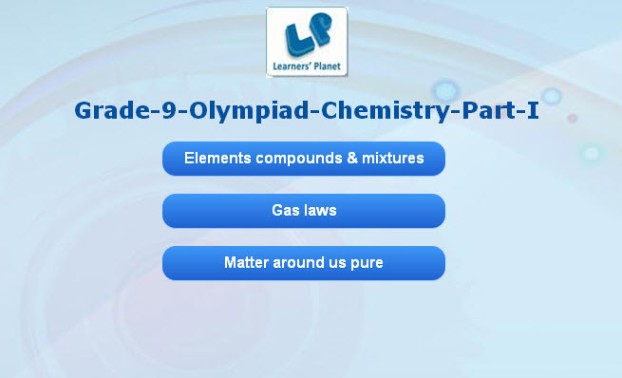 Olympiad science tests for class 9 students tutorials
