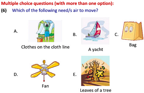 online Class two Science Air can Move Things Worksheets