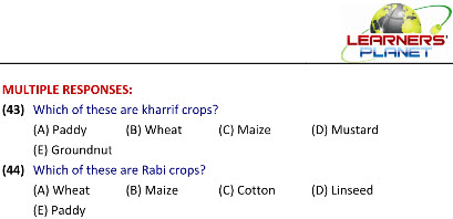 science worksheets on Crop Production & Management for grade 8 students
