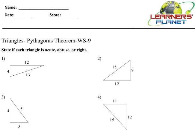 Class 8 ICSE Math on Triangles for students