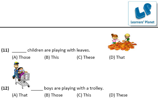 English class 2 worksheets for Use of This, That, These, Those