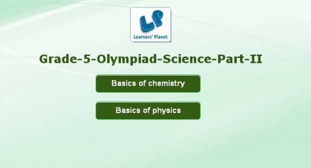 Olympiad science class 5 interactive online tutorials