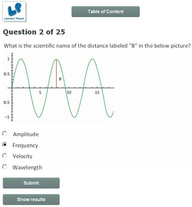 basics of physics quiz for 6th class online learning