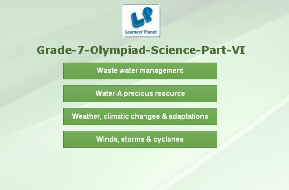 Science olympiad online quiz for class vii students tutorials