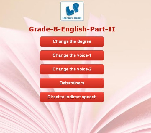 8th standard english grammar quiz for cbse kids