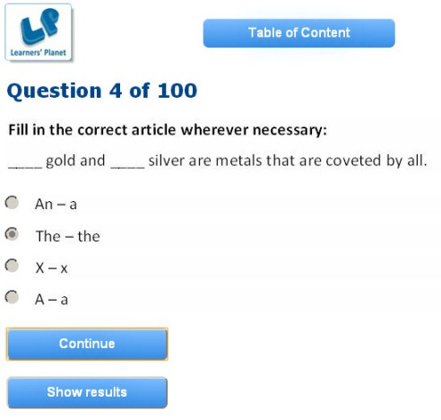 Grade 9 english interactive study online quizzes for students