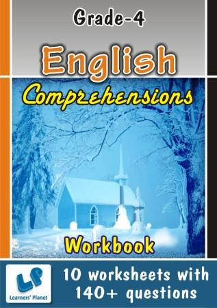 Fourth class English Comprehensions practice Worksheets