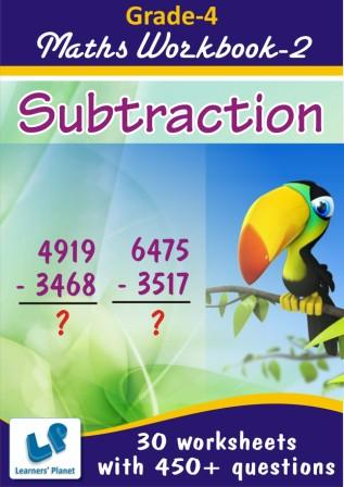 Printable worksheets on Subtraction for maths kids