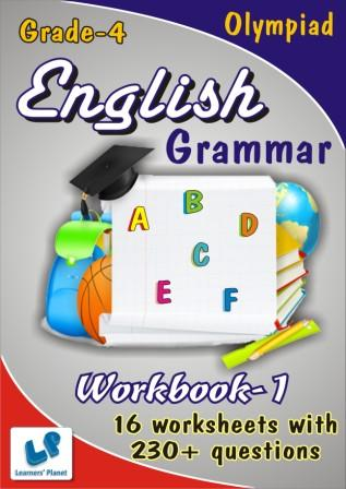 class 4 English Grammar Worksheets for olympiad students