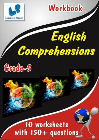 class 5 english comprehensions worksheets for fifth class kids