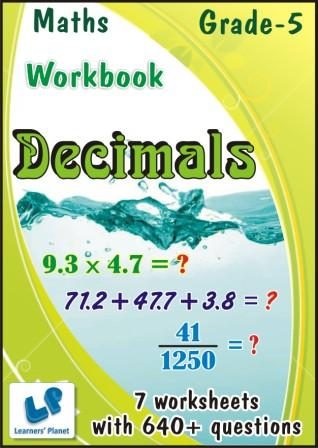 grade-5 maths online printable worksheets on Decimals