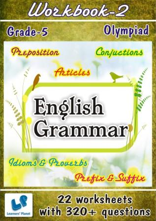 printable worksheets on english grammar for class 5 olympiad kids