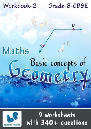 class 6 cbse maths online printable Worksheets Basic concepts of Geometry