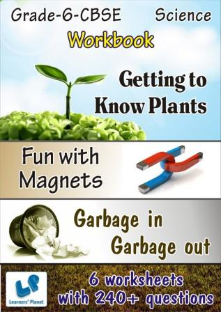 online science 6-cbse worksheet Fun With Magnets, Garbage In Garbage Out worksheets
