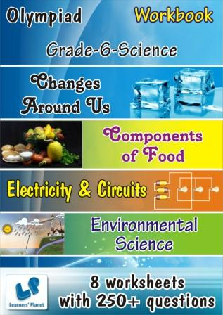 science class 6 olympiad worksheet changes around us, electricity and circuits worksheets