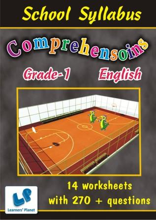 Printable Worksheets on English grammar for Comprehension