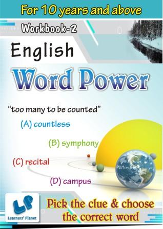 Word Power Worksheets for english grammar students