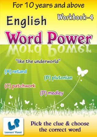 printable Worksheet for English Word Power