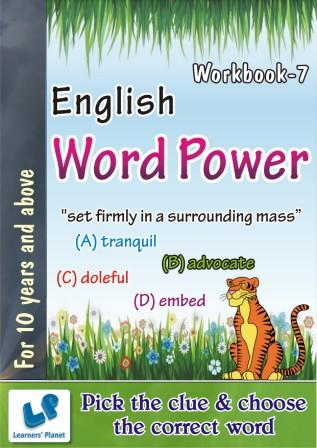 English Word Power Worksheets for 10 years and above kids