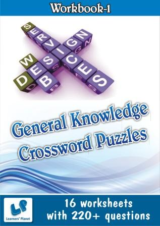 General Knowledge Crossword Puzzles Worksheets