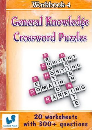 online General Knowledge Crossword Puzzles Worksheets