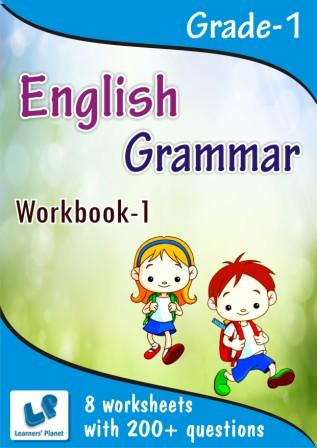 English grammar worksheet for grade 1 kids study material