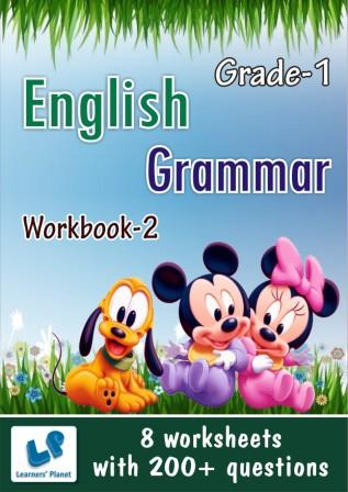 First class english grammar worksheets for kids