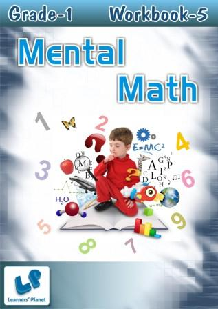 mental math worksheets for first class children