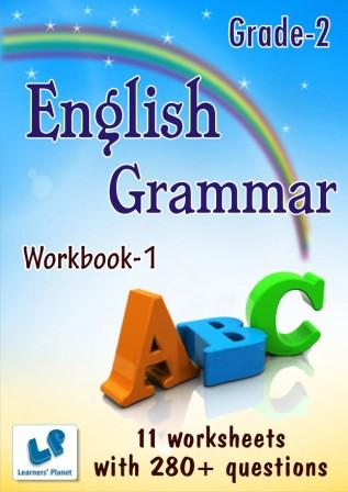 Grade two english grammar worksheet for students