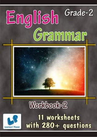 Online english grammar worksheets for second class kids study material