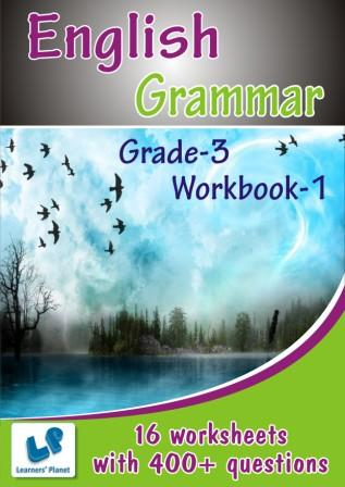 3rd class english grammar practice sheets for students