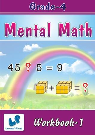 4th class mental math worksheets for students