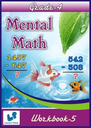 4th class maths worksheets on mental math