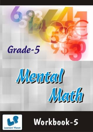 Mental math practice worksheets for fifth clas students
