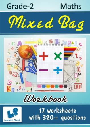 maths grade 2  worksheets on Mixed Bag
