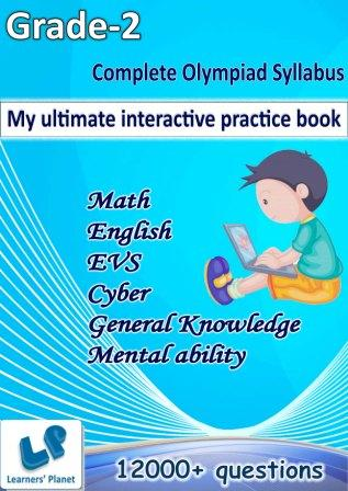 My ultimate interactive practice book for second class kids