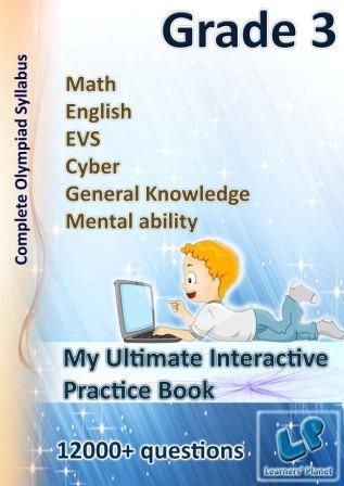 Grade-3 interactive worksheets for kids