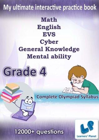 4th class kids interactive practice book