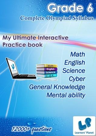 6th cbse-icse interactive practice book for kids