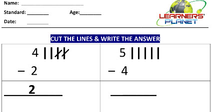 Printable Worksheets on Subtraction Up to 5 Digit for kids