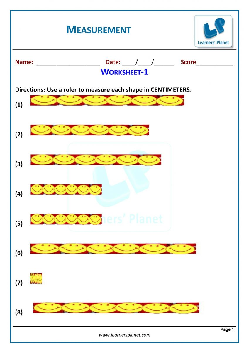 Grade 3 measurement worksheets for cbse maths